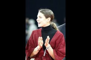 Charlotte Casiraghi au Gucci Paris Masters à Paris, le 7 décembre 2014