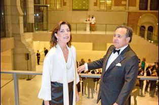 La princesse Caroline de Monaco au Rijksmuseum à Amsterdam pour Amade Pays-Bas, le 7 novembre 2014