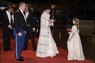 Albert de Monaco et Caroline de Hanovre