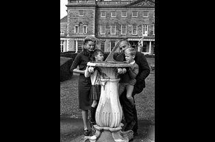 Albert et Caroline, en 1963