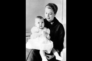 Caroline et Grace, en 1958
