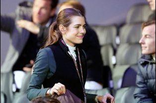 Charlotte Casiraghi aux Gucci Paris Masters à Paris, le 4 décembre 2014