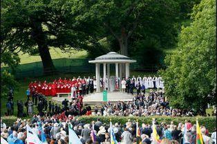 Commémoration des 800 ans de la Magna Carta à Runnymede, le 15 juin 2015