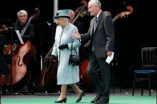La reine Elizabeth II et le prince Philip lors de la commémoration des 800 ans de la Magna Carta à Runnymede, le 15 juin 2015