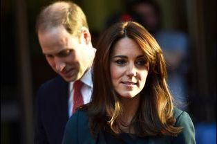 La duchesse de Cambridge Kate et le prince William à Londres, le 9 décembre 2015