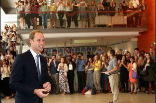Arrivée du prince William