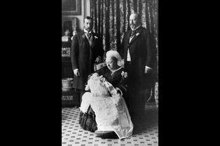 Baptême du prince Edward (futur roi Edward VIII), le 16 juillet 1894
