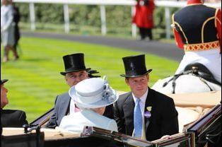 En compagnie de la reine Elizabeth II