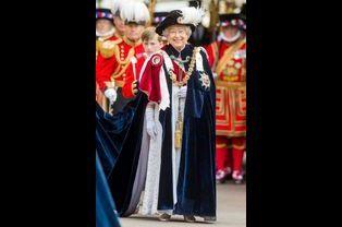 La reine Elizabeth II à Windsor, le 15 juin 2015