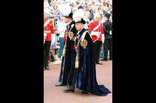 Les princes William et Charles à Windsor, le 15 juin 2015