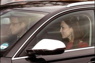 Le prince William et la duchesse de Cambridge, née Kate Middleton