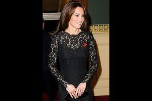 Kate Middleton lors du Festival of Remembrance au Royal Albert Hall à Londres, le 7 novembre 2015