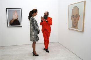 La duchesse de Cambridge, née Kate Middleton, au musée Turner Contemporary de Margate, le 11 mars 2015