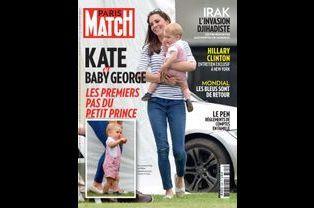 Retrouvez Kate cette semaine en couverture de Paris Match
