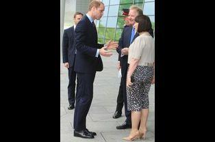 Le prince William au St George's Park à Burton upon Trent, le 20 mai 2015
