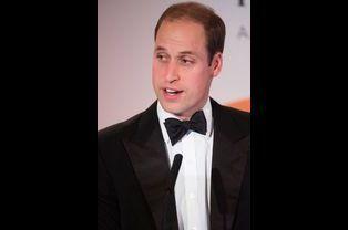 Le prince William à la cérémonie de remise des Tusk Conservation Awards à Londres, le 25 novembre 2014