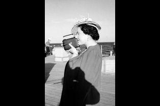 Elizabeth en 1947 en Afrique du Sud