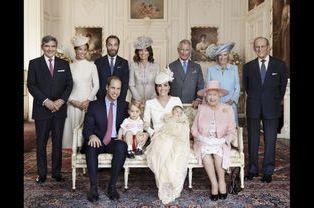 Baptême de la princesse Charlotte, les photos officielles