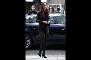 La duchesse de Cambridge, née Kate Middleton, à Londres, le 16 janvier 2015