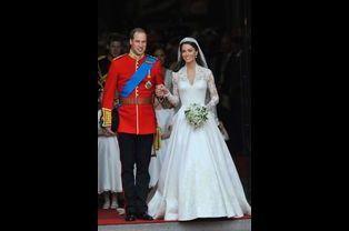 Kate en Alexander McQueen pour son mariage avec le prince William, le 29 avril 2011