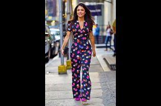 La businesswoman Bethenny Frankel arrive à une émission de télévision à New York, le 15 septembre 2014