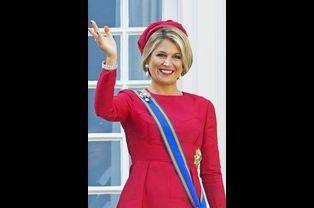 La reine Maxima des Pays-Bas assiste au Jour du Prince, le 16 septembre 2014 à La Haye