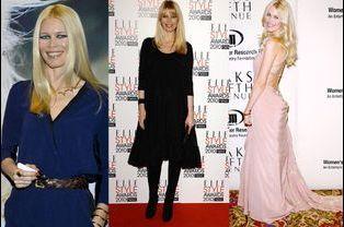 Claudia Schiffer, 44 ans, ancienne égérie Chanel et L'Oréal
