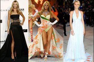 Heidi Klum, 41 ans, ancienne égérie Victoria's Secret