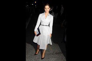 L'actrice Emma Watson, en Christian Dior, désignée ambassadrice de l'Onu pour les droits des femmes en juillet 2014