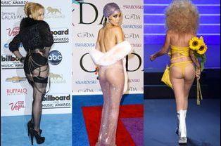 Madonna, Rihanna, Gigi Hadid au défilé Jean-Paul Gaultier : quand célébrités et mannequins dévoilent leurs fesses