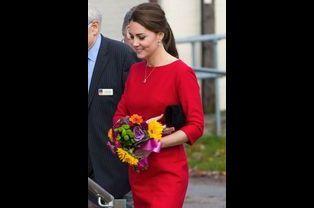 Kate Middleton participe à l'inauguration d'un hébergement pour enfants à Norwich, le 25 novembre 2014
