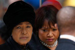 Winnie Mandela et sa fille Zindzi