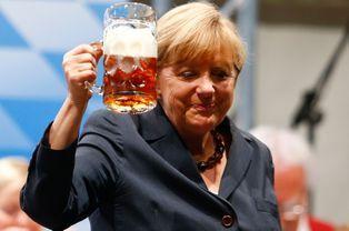 Angela Merkel, vacances en campagne (électorale)