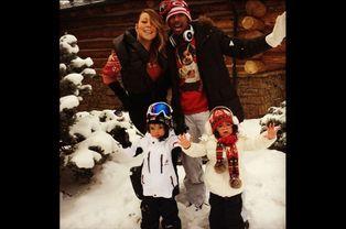 Mariah Carey, Nick Cannon et leurs enfants Moroccan et Monroe