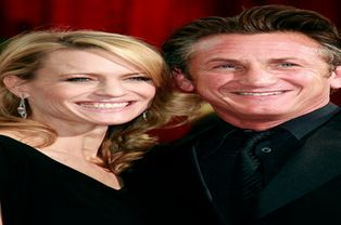 Sean Penn et Robin Wright