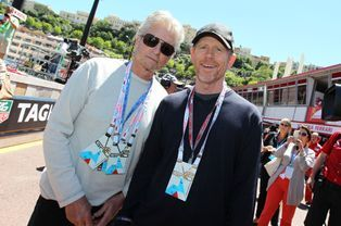 Michael Douglas et Ron Howard