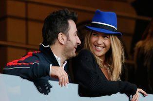Michael Youn et sa compagne Isabelle Funaro