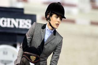 Passionnée d'équitation