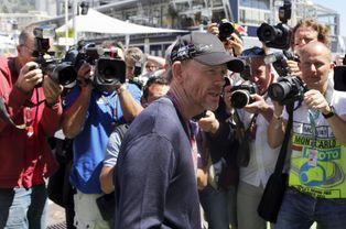 Le réalisateur Ron Howard, dont le prochain film est consacré à la F1, était également présent.
