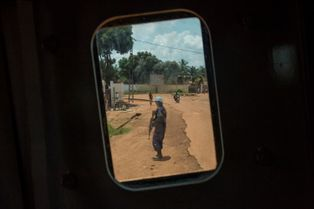 Bangui à l'abri des regards