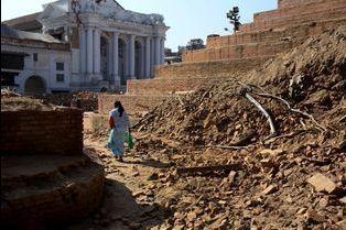 Katmandou, la longue marche de la reconstruction