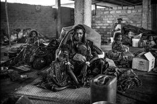 Nourrir les déplacés du Tchad par Corentin Fohlen
