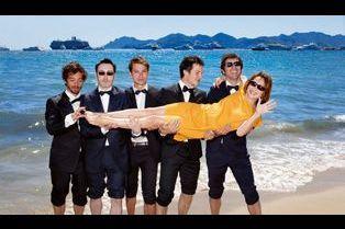 Cannes: les acteurs se mouillent pour Match