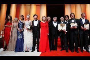Cannes 2011: La cérémonie de clôture en images