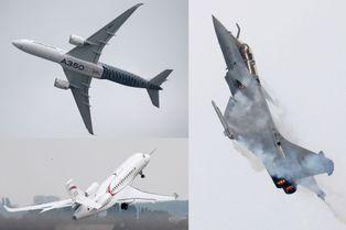 Au Bourget, le futur de l'aviation en action