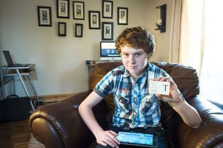 Jordan, 15 ans, entrepreneur