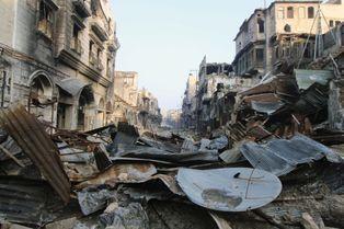A Alep, vivre malgré la guerre