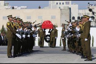 Funérailles sous tension du responsable palestinien