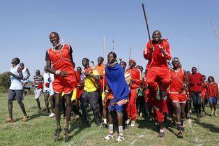 Les Masaï, un nouveau rituel dans le sport