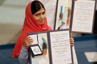 Malala a reçu le prix Nobel de la Paix